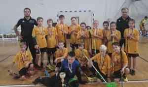 Флорболисы Поморья с триумфом выступили на турнире в Московской области