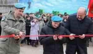 Первый комплекс для подготовки десантников открыли в Архангельске