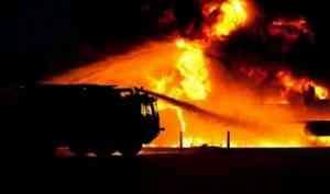 В Холмогорском районе мужчина погиб во время тушения пожара в гараже