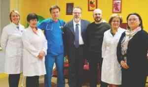 Итальянские благотворители продолжают помогать детям Поморья
