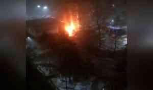 «Стал жертвой злоумышленников»: на Галушина горел автомобиль