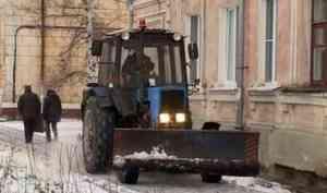 60 миллионов рублей направит Северодвинск науборку улиц зимой
