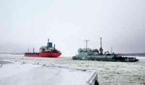 Тепло, захватившее Северо-Запад России, замедлило ледообразование на реках Архангельской области