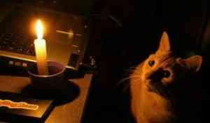 Более 800 домов в Архангельской области остались без света