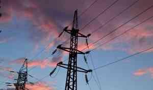 В Онежском районе более 800 домов остались без света