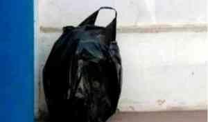 Подозрительный пакет обнаружили на остановке в Архангельске