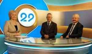 Переход на цифровое ТВ обсудили в эфире программы «13 этаж»