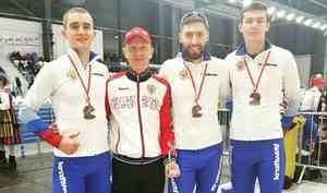 Архангельский конькобежец Александр Румянцев взял бронзу на третьем этапе Кубка мира