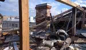 Набережная, 98: Вместо капремонта фактически сделана новая крыша с серьезным запасом прочности