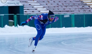 Архангелогородец Александр Румянцев взял серебро на третьем этапе Кубка мира по конькобежному спорту