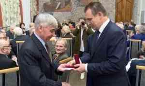 ВСеверодвинске четверо ветеранов труда получили звание «Заслуженный работник Севмаша»