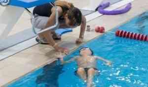 В «Норд Арене» прошла открытая тренировка по плаванию для лиц с ограниченными возможностями здоровья
