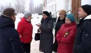 Жители Северного округа Архангельска сегодня задали вопросы главе областного центра