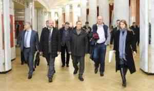 Юрий Трутнев провел в Архангельске совещание по подготовке к V Международному арктическому форуму «Арктика – территория диалога»