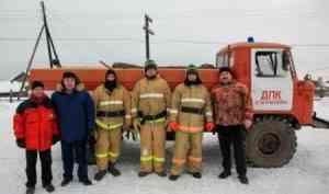 Добровольцы удаленной деревни Патракеевка справились с очередным пожаром