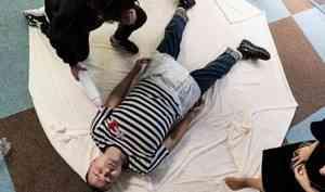Экс-мэр Архангельска Александр Донской принял образ «младенца-подкидыша» в Барселоне