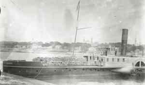 Чамово: могила британских и наших кораблей