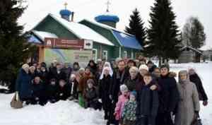 Новый паломнический маршрут «Ширша-направление» открылся в Поморье