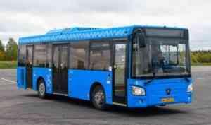 Ещё 30 низкопольных автобусов выходят на архангельские маршруты