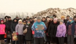 Жители Архангельской области просят Путина остановить строительство полигона для отходов на Шиесе