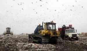 Поморью разрешили до 2023 года использовать старые полигоны для мусора