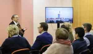Нанаучно-популярном лектории «Культ ТВ» встретились настоящее ибудущее тележурналистики Архангельска