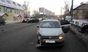 В Няндоме автомобиль «ГАЗ» сбил ребенка