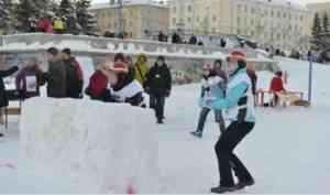 Снежная битва пройдет в Архангельске пятый раз