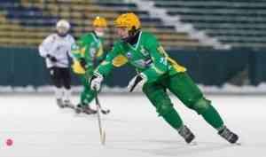 Хоккеисты «Водника» начали 2019-й год с волевой победы в Архангельске