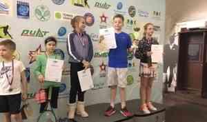 Архангельские теннисисты первенствовали на юношеском турнире в Подмосковье