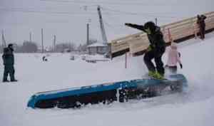 На открытие сноупарка под Архангельском приедет известный олимпиец Алексей Соболев