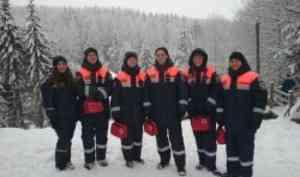 Новогодние дежурства отряда «Помор-Спас»