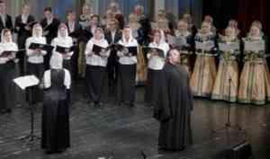 Северный хор представил новую программу на Рождественском концерте