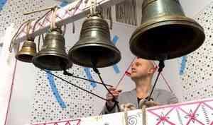 Накануне Крещения нарадио «Поморье» впервые вживую звучали колокольные звоны