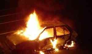 Утром в Архангельске горела «Лада Самара»