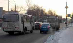 На трёх архангельских маршрутах увеличено количество автотранспорта