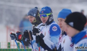 Три «золота» взял юный вельчанин на первенстве Поморья по лыжным гонкам