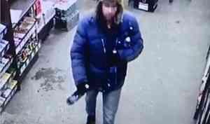 В Северодвинске поймали похитителя алкоголя
