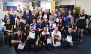 В Коряжме завершились чемпионат и первенство региона по пауэрлифтингу спорта лиц с ПОДА