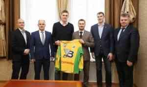 В Архангельск прибыл один из самых титулованных российских баскетболистов Андрей Кириленко