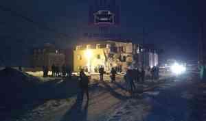 Взрыв газа и обрушение дома произошло в Красноярске