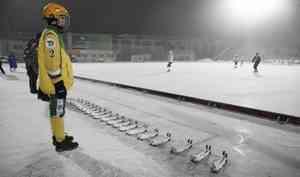 «Водник» уступил московскому «Динамо» со счетом 5:6