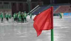 Красная карточка Дергаева и 7 удалений «Водника» в матче с московским «Динамо»