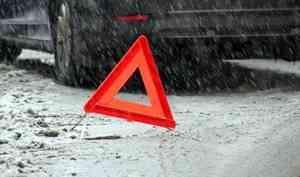 Авария на трассе Архангельск — Северодвинск унесла жизнь пенсионерки