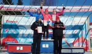 Северодвинская лыжница завоевала серебро в Рыбинске