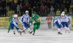 Архангельский «Водник» одержал первую победу после четырех поражений подряд