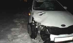 Под Архангельском водитель иномарки насмерть сбил пешехода