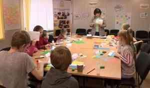 ВАрхангельске фонд «Взамен» провел мастер-класс для детей изподопечных семей