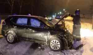 В ДТП в Котласе пострадало трое человек