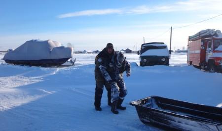 В Унской губе Белого моря спасли от гибели заблудившегося накануне мужчину